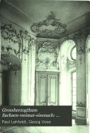 Grossherzogthum Sachsen-Weimar-Eisenach