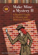 Make Mine A Mystery Ii book