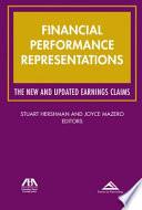 Financial Performance Representations