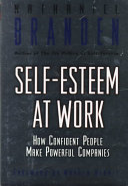 Self esteem at work