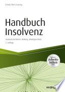 Handbuch Insolvenz - inkl. Arbeitshilfen online