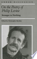 On the Poetry of Philip Levine