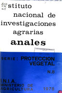 Anales  Serie  Proteccion vegetal