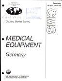 Medical equipment, Germany