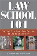 Law School 101