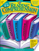 Reading Comprehension Graphic Organizers Gr 4 6 Ebook book