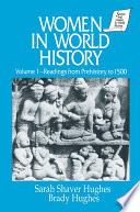 Women in World History  v  1  Readings from Prehistory to 1500