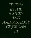 Studies in the History and Archaeology of Jordan