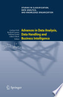 Review Advances in Data Analysis, Data Handling and Business Intelligence