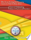 PDCA Cost and Estimating Guide Volume I