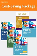 Step By Step Medical Coding 2020 Edition Text Workbook 2020 Icd 10 Cm For Physicians Edition 2020 Hcpcs Professional Edition And Ama 2020 Cpt Professional Edition Package