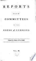 Reports From Committees Of The House Of Commons book