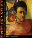 A People and a Nation: A History of the United States, Volume 2: Since 1865, Brief