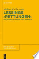 Lessings 'Rettungen'