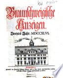 Braunschweigische Anzeigen