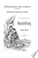 Abtheilung für Drama und Theater ...