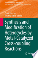 Synthesis and Modification of Heterocycles by Metal Catalyzed Cross coupling Reactions