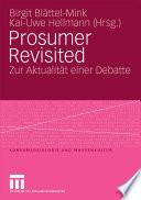 Prosumer Revisited