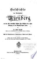 Geschichte der Reichsstadt N  rnberg