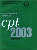 Current Procedural Terminology Cpt 2003