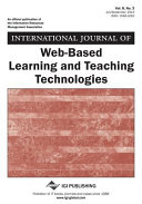 International Journal of Web-Based Learning and Teaching Technologies (IJWLTT).