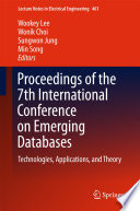 Proceedings of the 7th International Conference on Emerging Databases
