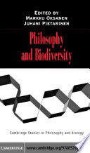 Philosophy and Biodiversity