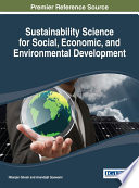Sustainability Science For Social Economic And Environmental Development