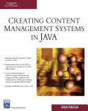 Creating Content Management Systems In Java book