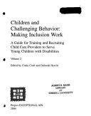 Children and challenging behavior