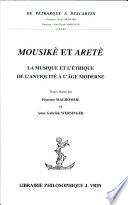 illustration Mousikè et aretè