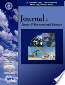 Journal of Energy   Environmental Research  Vol  1  No  1