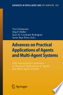 Advances on Practical Applications of Agents and Multi Agent Systems