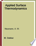 Applied Surface Thermodynamics book