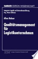 Qualitätsmanagement für Logistikunternehmen