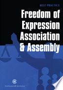 Freedom of Expression  Assembly and Association