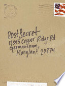 Book PostSecret