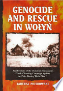 Genocide and Rescue in Wo  y