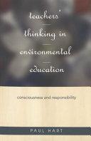 Teachers  Thinking in Environmental Education
