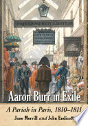 Aaron Burr in Exile