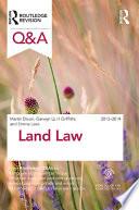 Q A Land Law 2013 2014