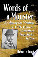 Words of a Monster Book PDF