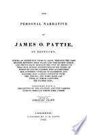 The Personal Narrative of James O  Pattie  of Kentucky