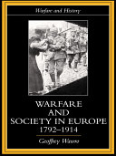 download ebook warfare and society in europe, 1792- 1914 pdf epub