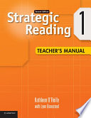 Strategic Reading Level 1 Teacher s Manual