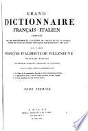 Grand Dictionnaire Fran  ais   Italien
