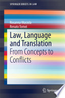 Law  Language and Translation