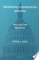 Presidential Congressional Relations