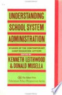 Understanding School System Administration