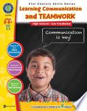 21st Century Skills   Learning Communication   Teamwork Gr  3 8